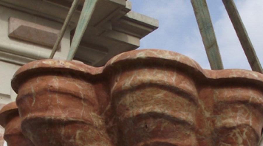La fuente de Virgen de los Reyes, en restauración desde mañana