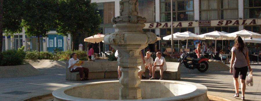 La fuente de la Plaza de la Encarnación