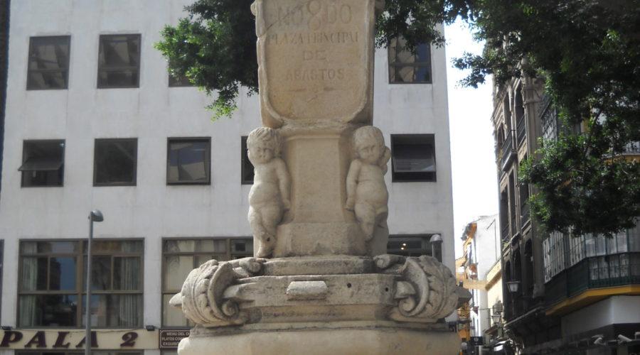 La fuente de la Plaza de la Encarnación y su entorno